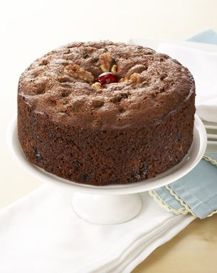 Boiled Fruit and Nut Cake