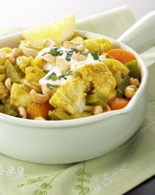 Cauliflower and Cashew Curry