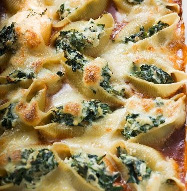 Spinach Pasta Bake