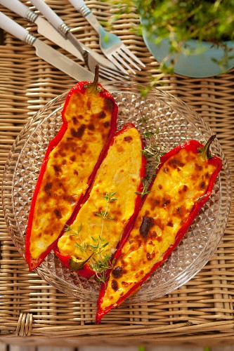 Fetta Peppers with Thyme